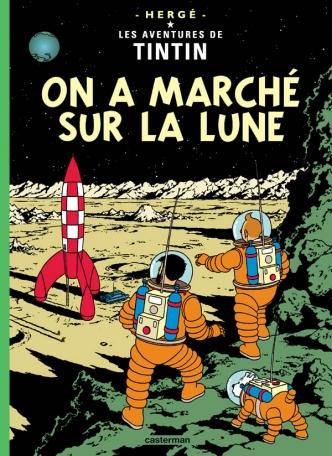 Les aventures de Tintin : On a marché sur la lune (tome 17)