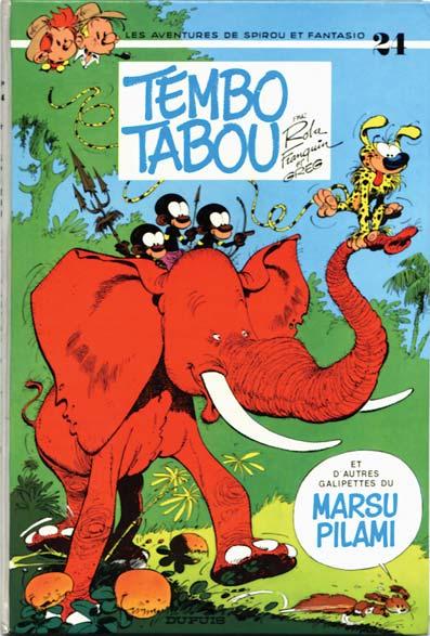 Spirou et Fantasio : Tembo tabou (tome 24)