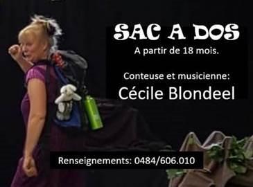 Sac à dos avec Cécile Blondeel