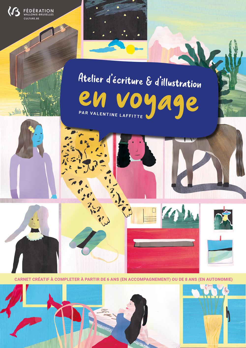 Atelier d'écriture et d'illustration : En voyage