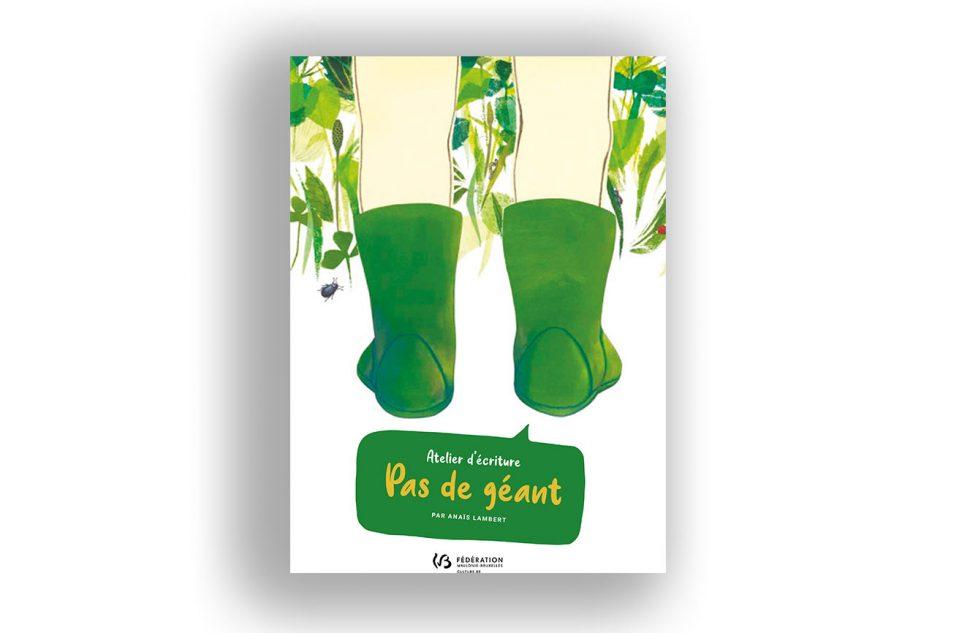 """L'atelier créatif """"Pas de géant"""" de l'autrice illustratrice jeunesse Anaïs Lambert"""