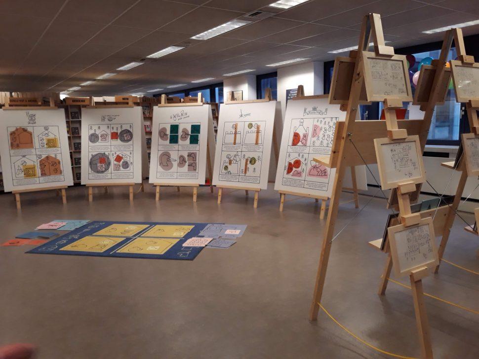 Contes au carré exposition
