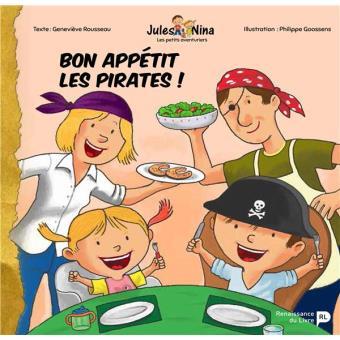 Jules et Nina : Bon appétit, les pirates !