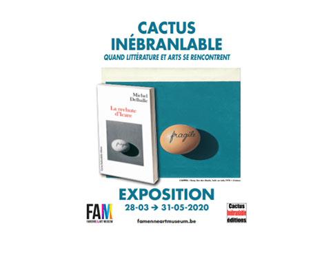 Cactus Inébranlable : quand littérature et art se rencontrent