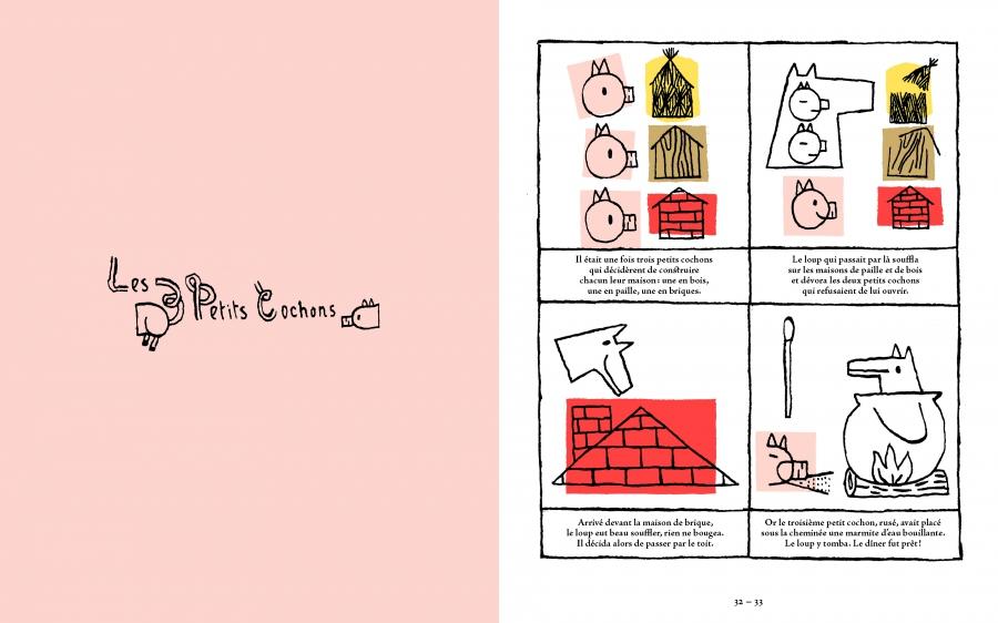 Les 3 petits cochons, par Loïc Gaume
