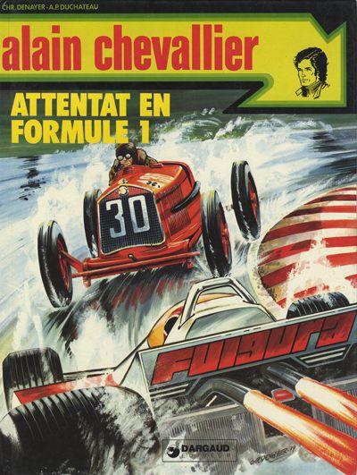 Alain Chevallier (tome 11) : Attentat en Formule 1