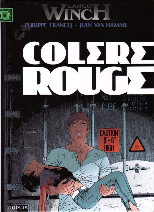 Largo Winch (tome 18) : Colère rouge