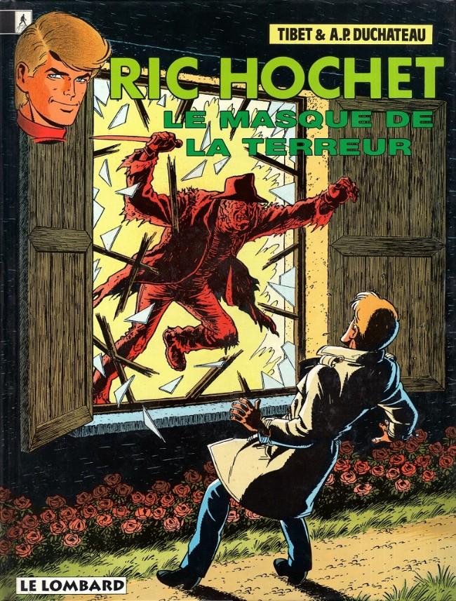 Ric Hochet (tome 54) : Le masque de la terreur