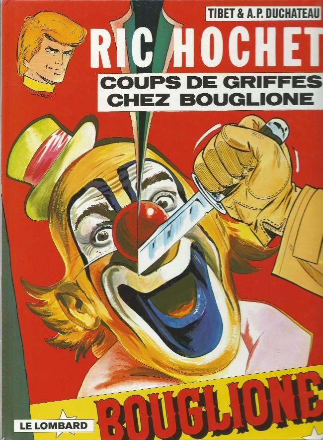 Ric Hochet (tome 25) : Coups de griffes chez Bouglione