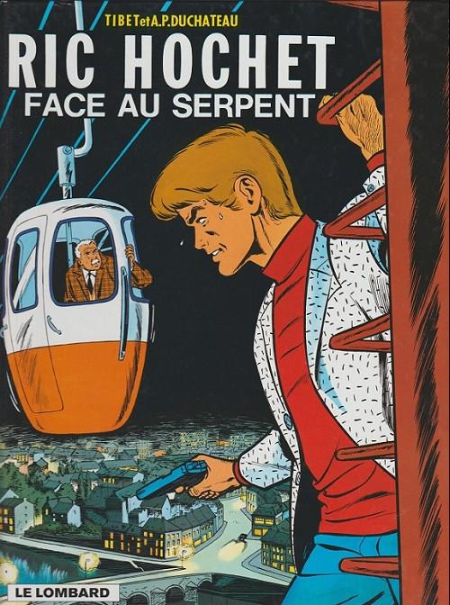 Ric Hochet (tome 8) : Ric Hochet face au serpent