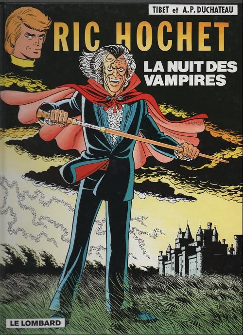 Ric Hochet (tome 34) : La nuit des vampires