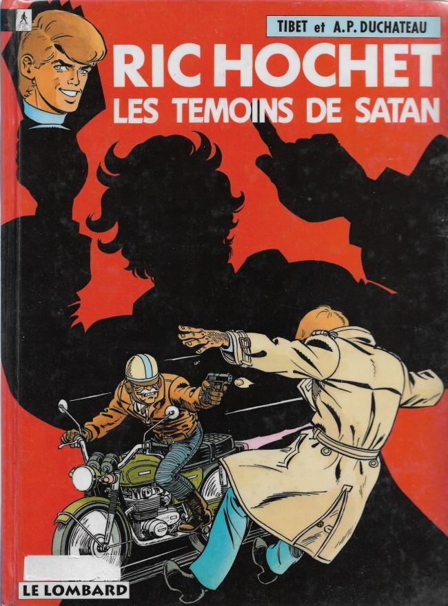 Ric Hochet (tome 46) : Les témoins de Satan