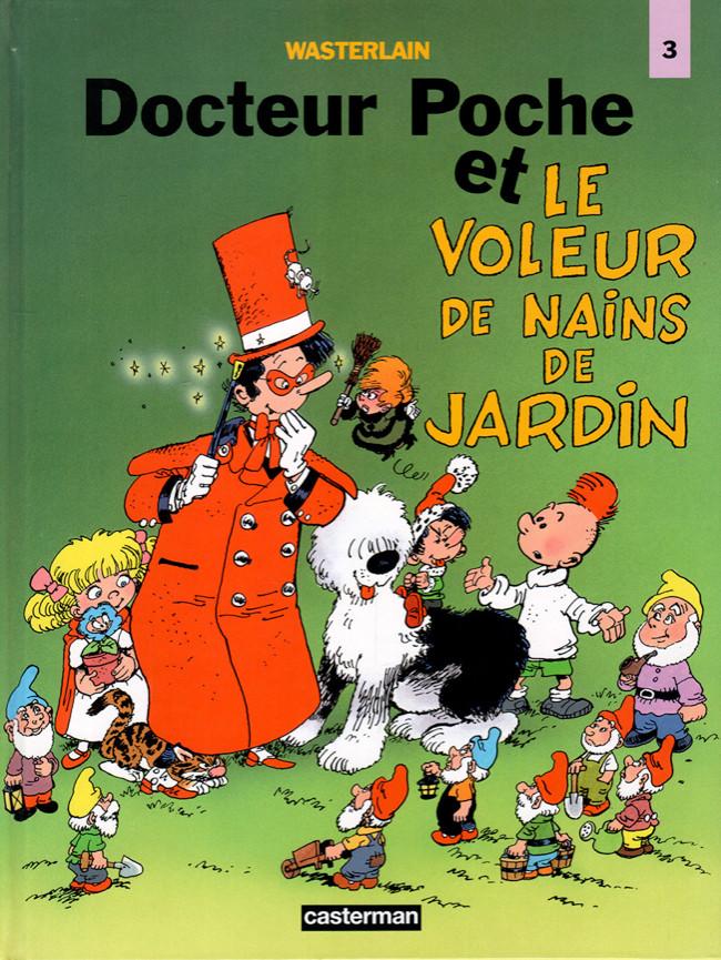 Docteur Poche (tome 12) : Docteur Poche et le voleur de nains de jardin