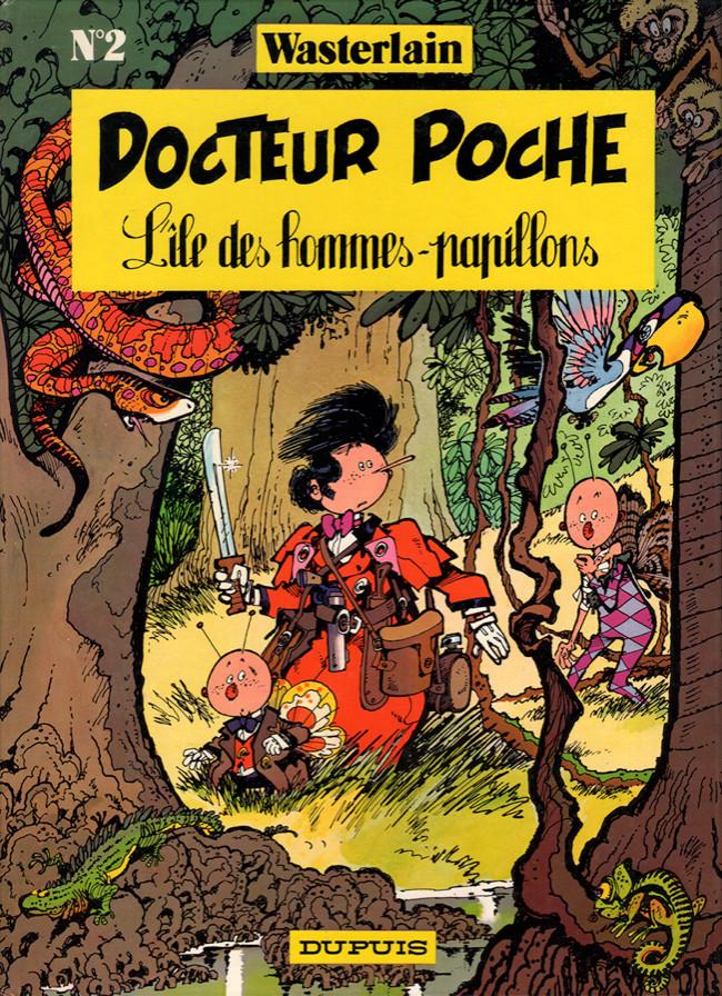 Docteur Poche (tome 2) : L'île des hommes-papillons