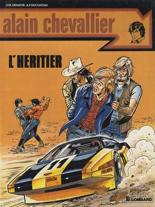 Alain Chevallier (tome 13) : L'héritier