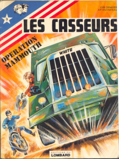 Les casseurs (tome 3) : Opération Mammouth