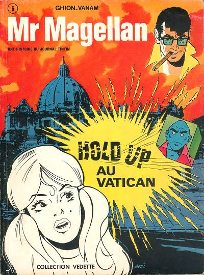 Mr Magellan (tome 2) : Hold-up au Vatican