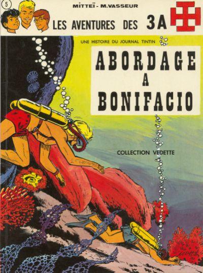 Les aventures des 3A (tome 5) : Abordage à Bonifacio