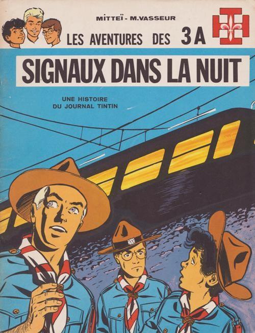 Les aventures des 3A (tome 4) : Signaux dans la nuit