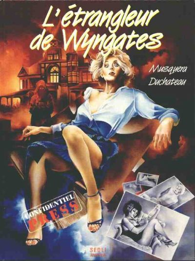 Peggy Press (tome 3) : L'étrangleur de Wyngates