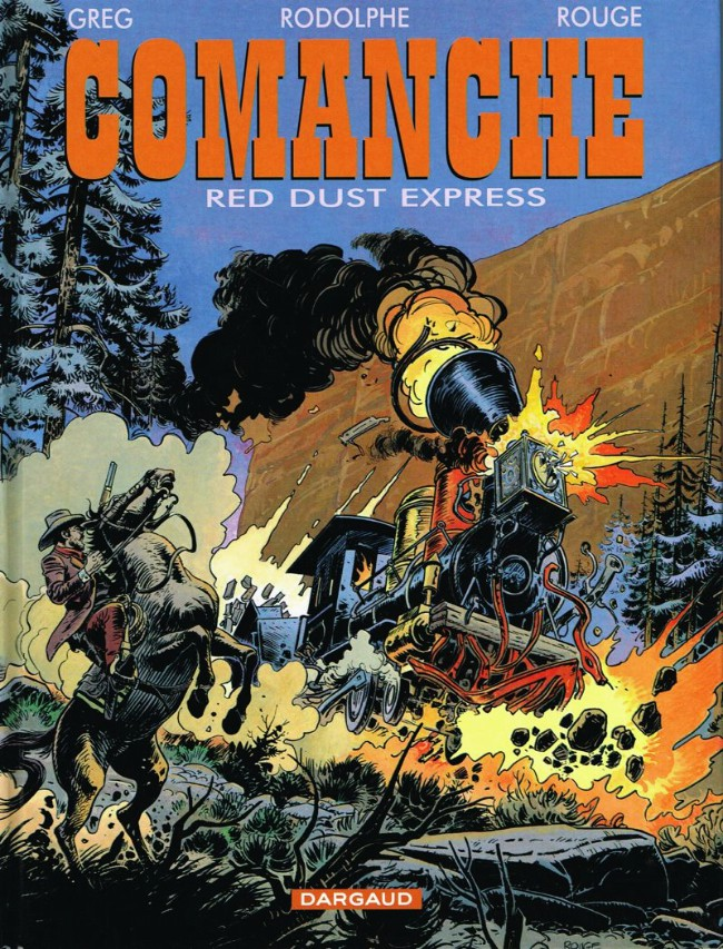 Comanche (tome 15) : Red dust express
