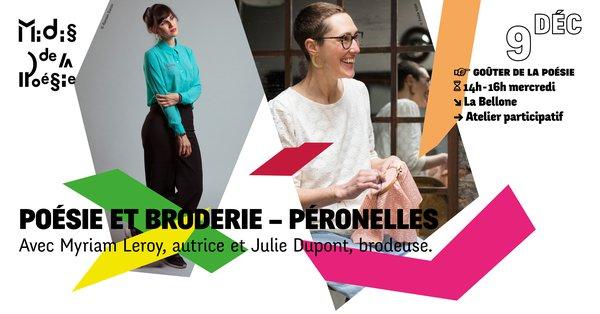 Poésie et Broderie – Péronnelles