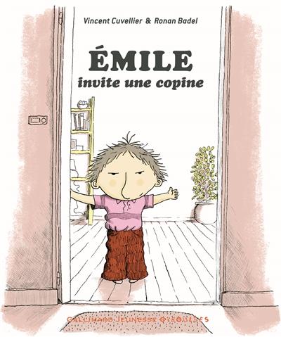 Emile (tome 9) : Emile invite une copine