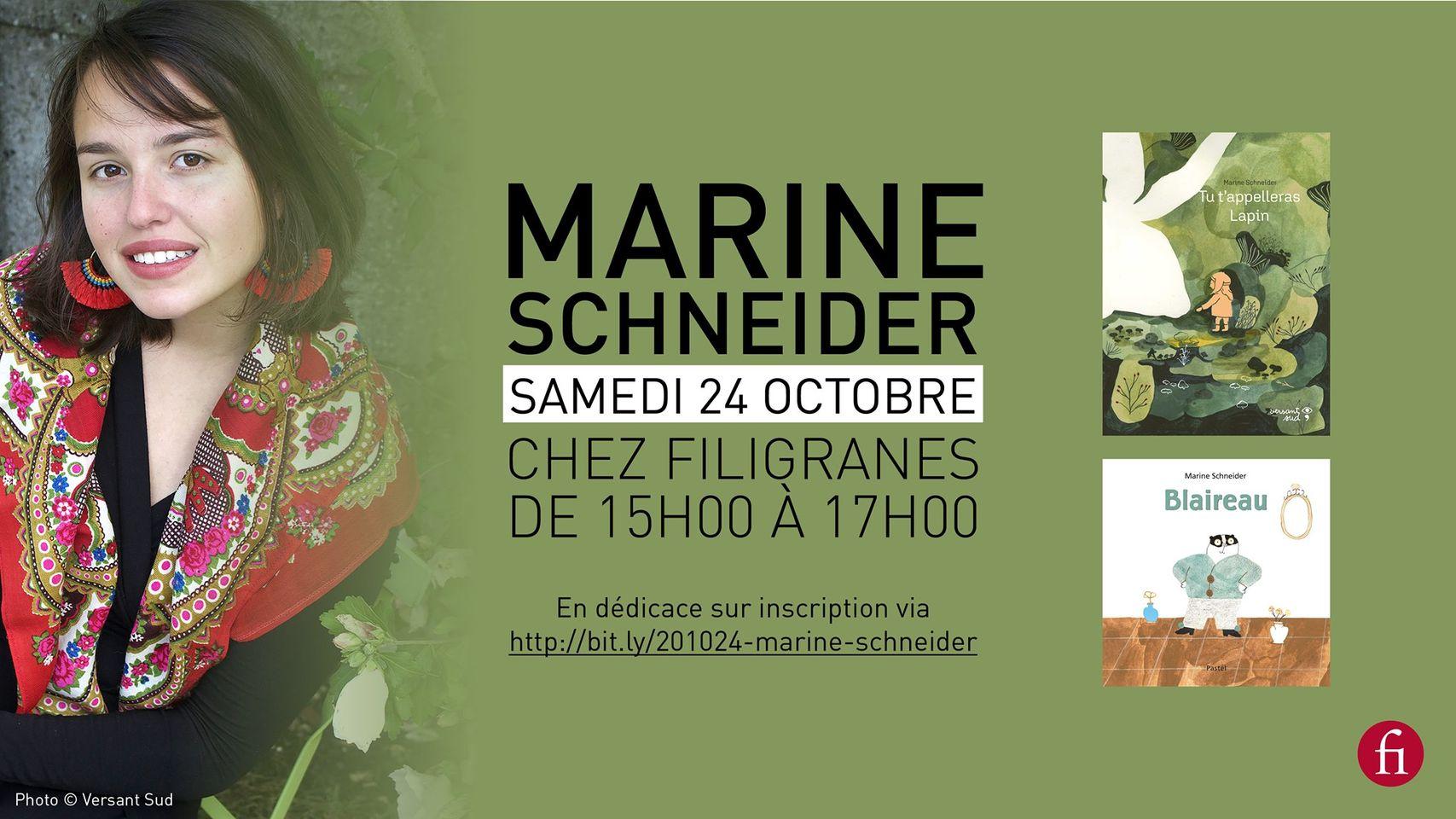 Rencontre avec Marine Schneider