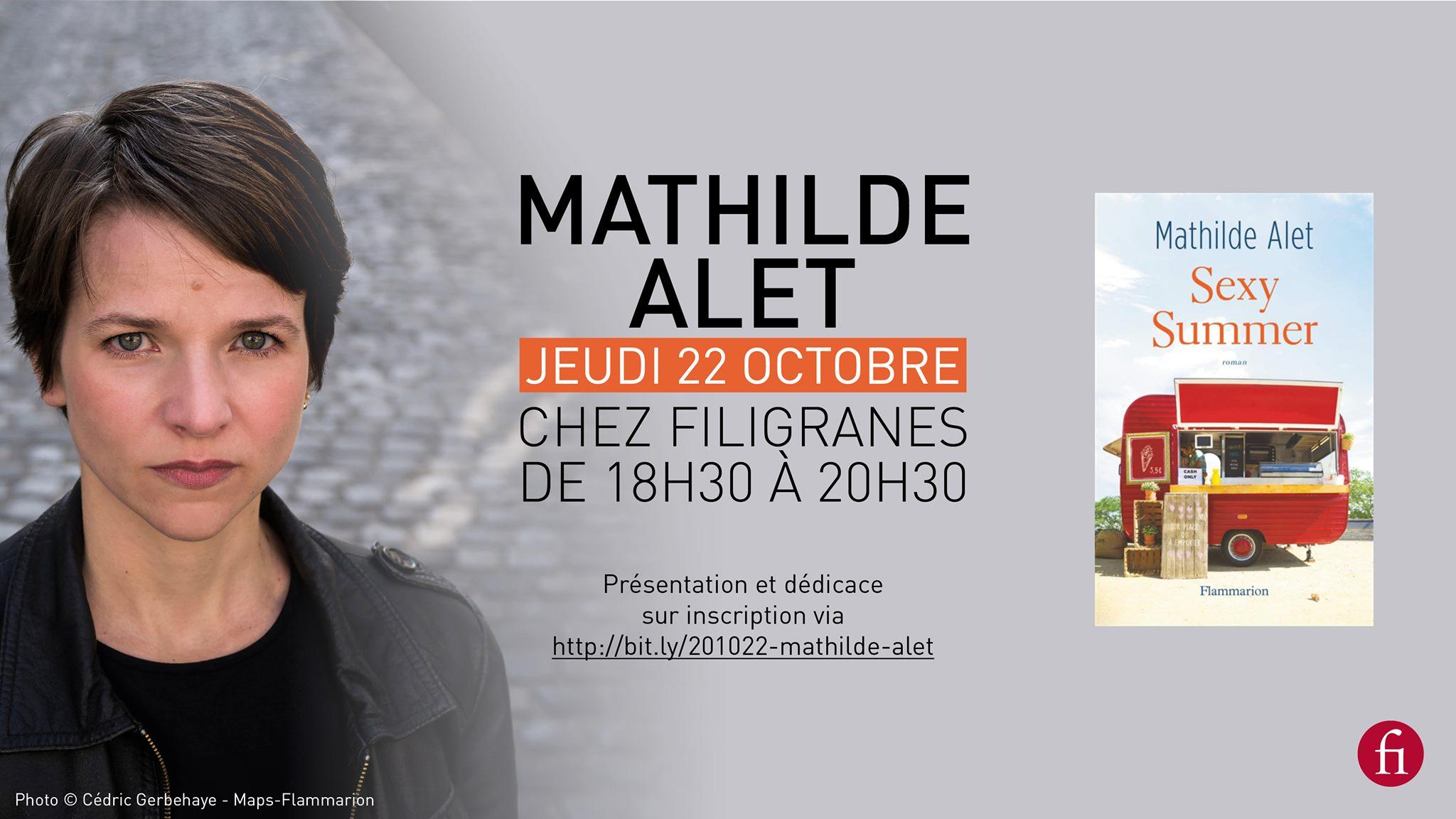 Rencontre avec Mathilde Alet