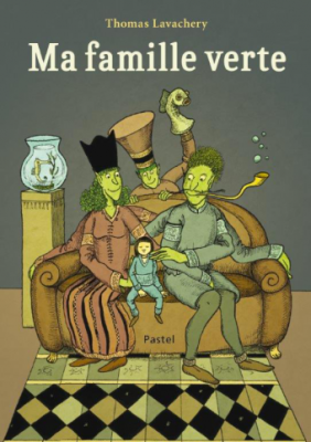 La famille verte de Thomas Lavachery avec Félix Laurent