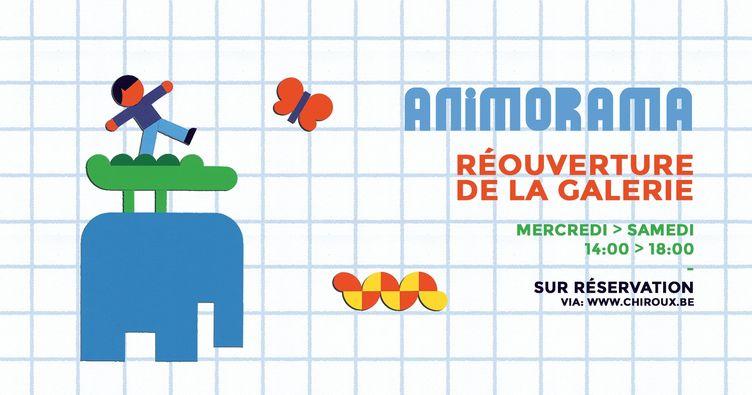 Expo Animorama : réouverture (sur réservation)