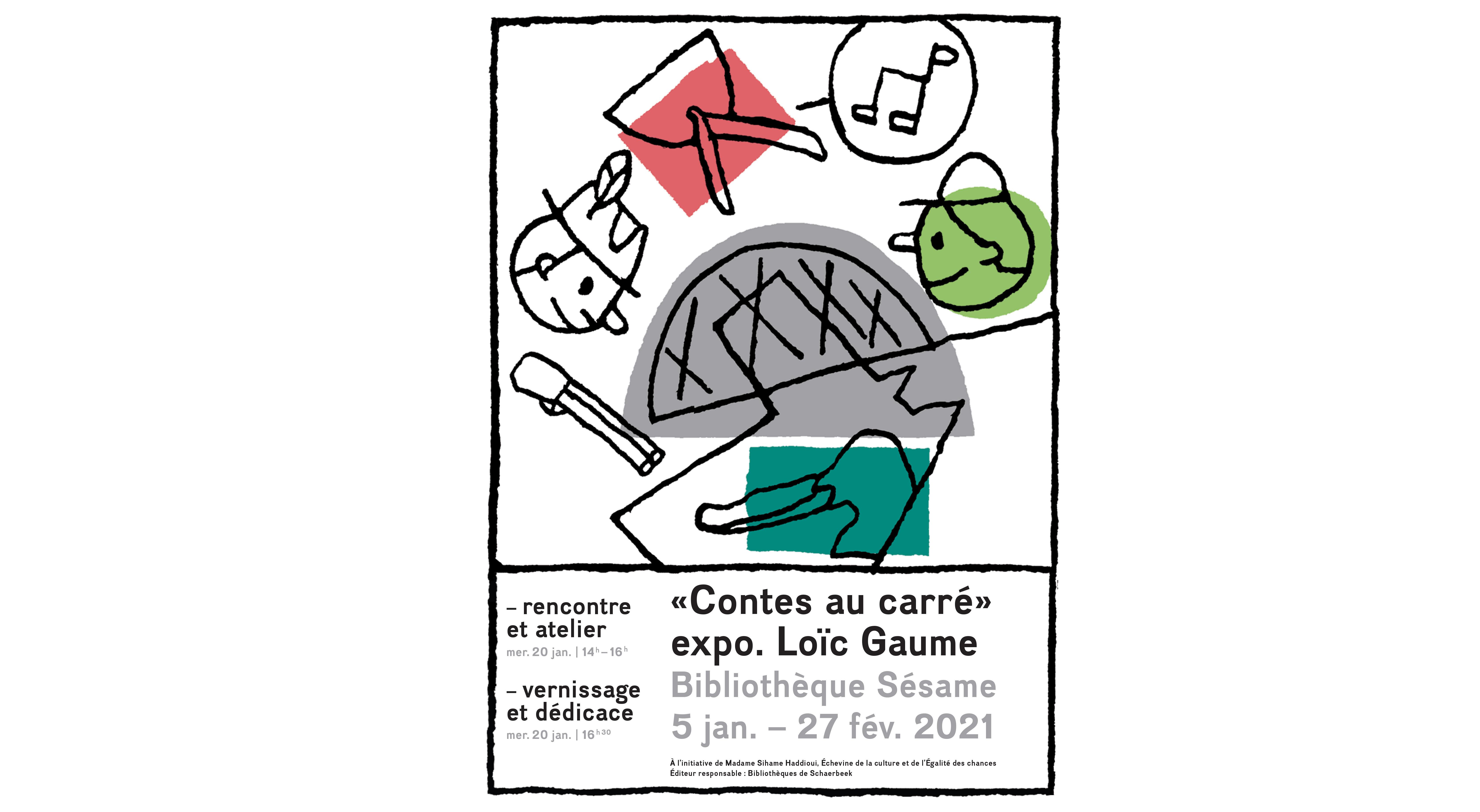 Rencontre et atelier avec Loïc Gaume