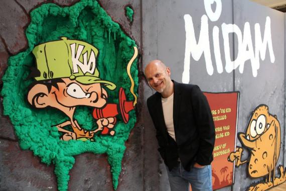 Exposition : Midam, itinéraire d'un Kid de Bruxelles