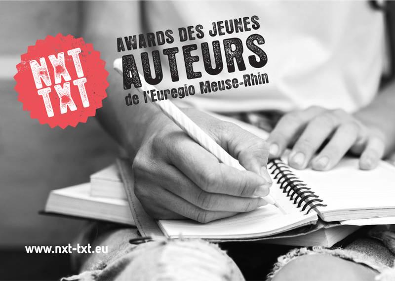 NXT TXT Awards des jeunes auteurs de l'Euregio Meuse-Rhin