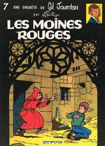 Gil Jourdan (tome 7) : Les moines rouges
