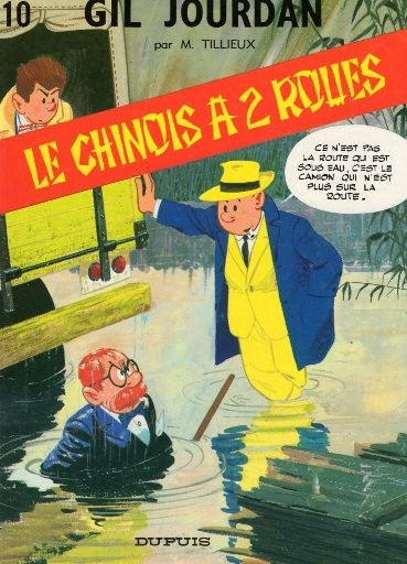 Gil Jourdan (tome 10) : Le Chinois à 2 roues