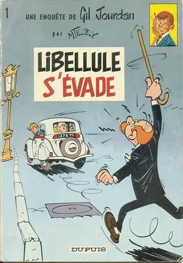 Gil Jourdan (tome 1) : Libellule s'évade