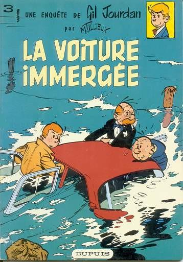 Gil Jourdan (tome 3) : La voiture immergée