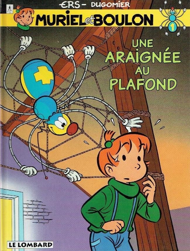 Muriel et Boulon (tome 1) : Une araignée au plafond