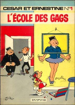 César et Ernestine (tome 1) : L'école des gags