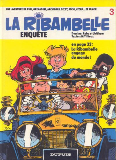 La Ribambelle (tome 5) : La Ribambelle enquête