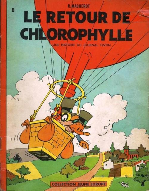 Chlorophylle (tome 4) : Le retour de Chlorophylle