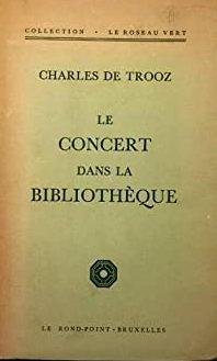 Le concert dans la bibliothèque