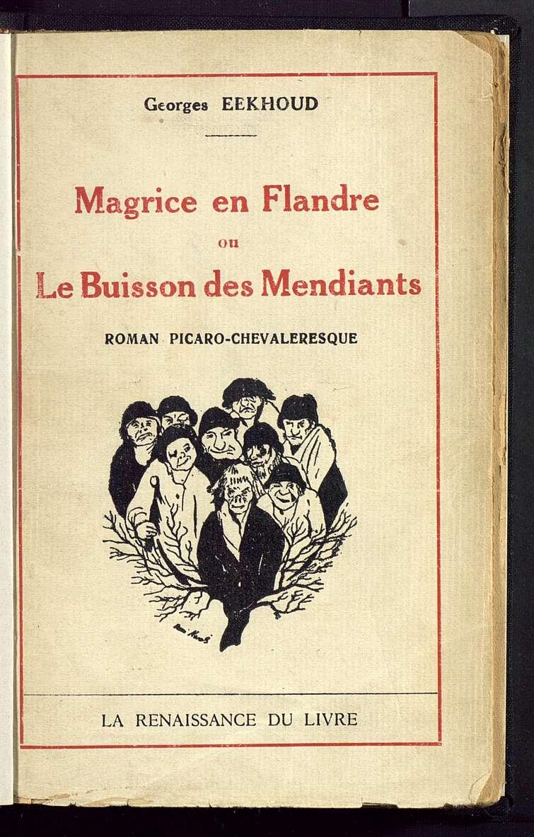 Magrice en Flandre ou Le buisson des mendiants  picaro-chevaleresque