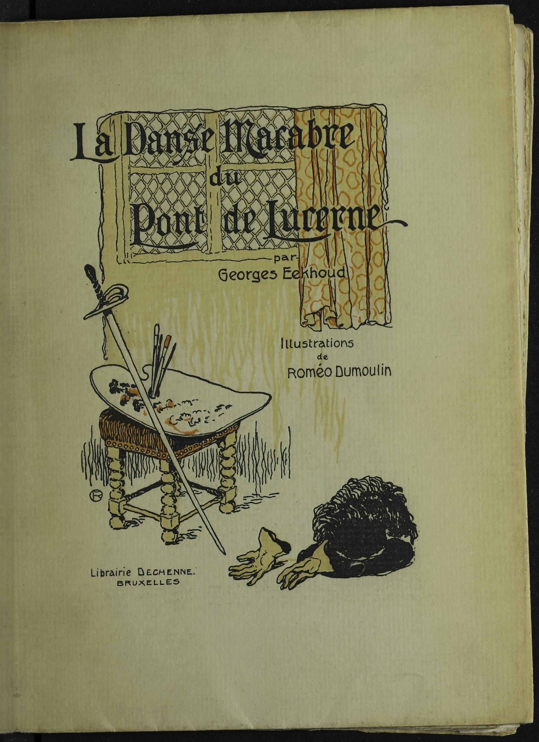 La danse macabre du Pont de Lucerne