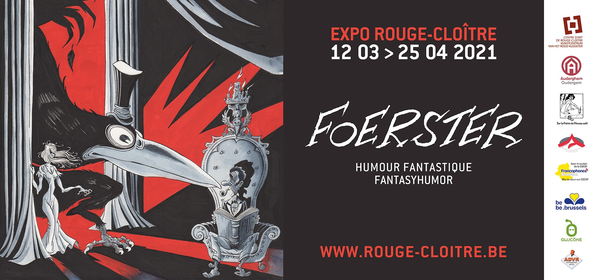Expo :  Foerster, humour fantastique