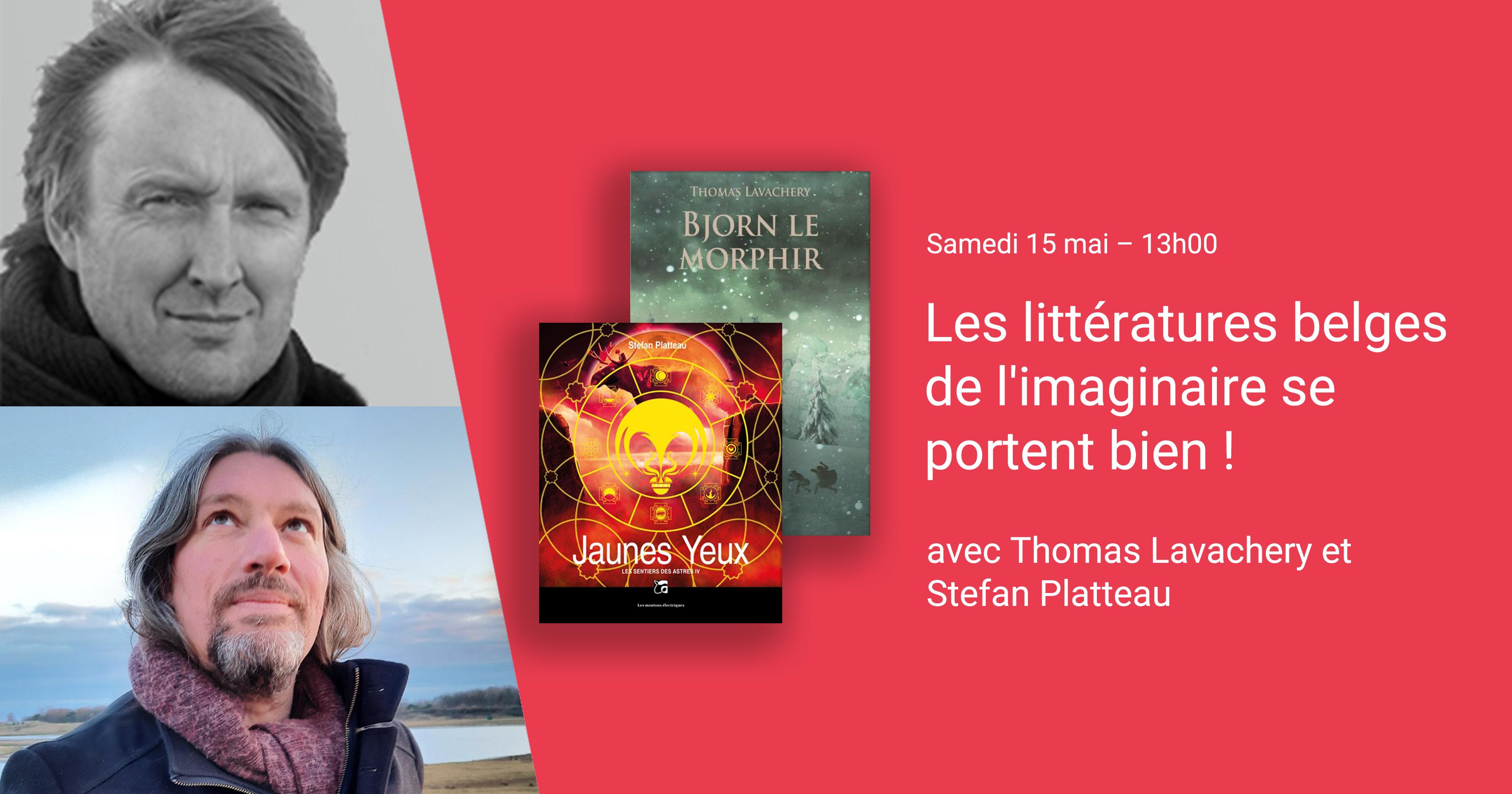 Les littératures belges de l'imaginaire se portent bien !