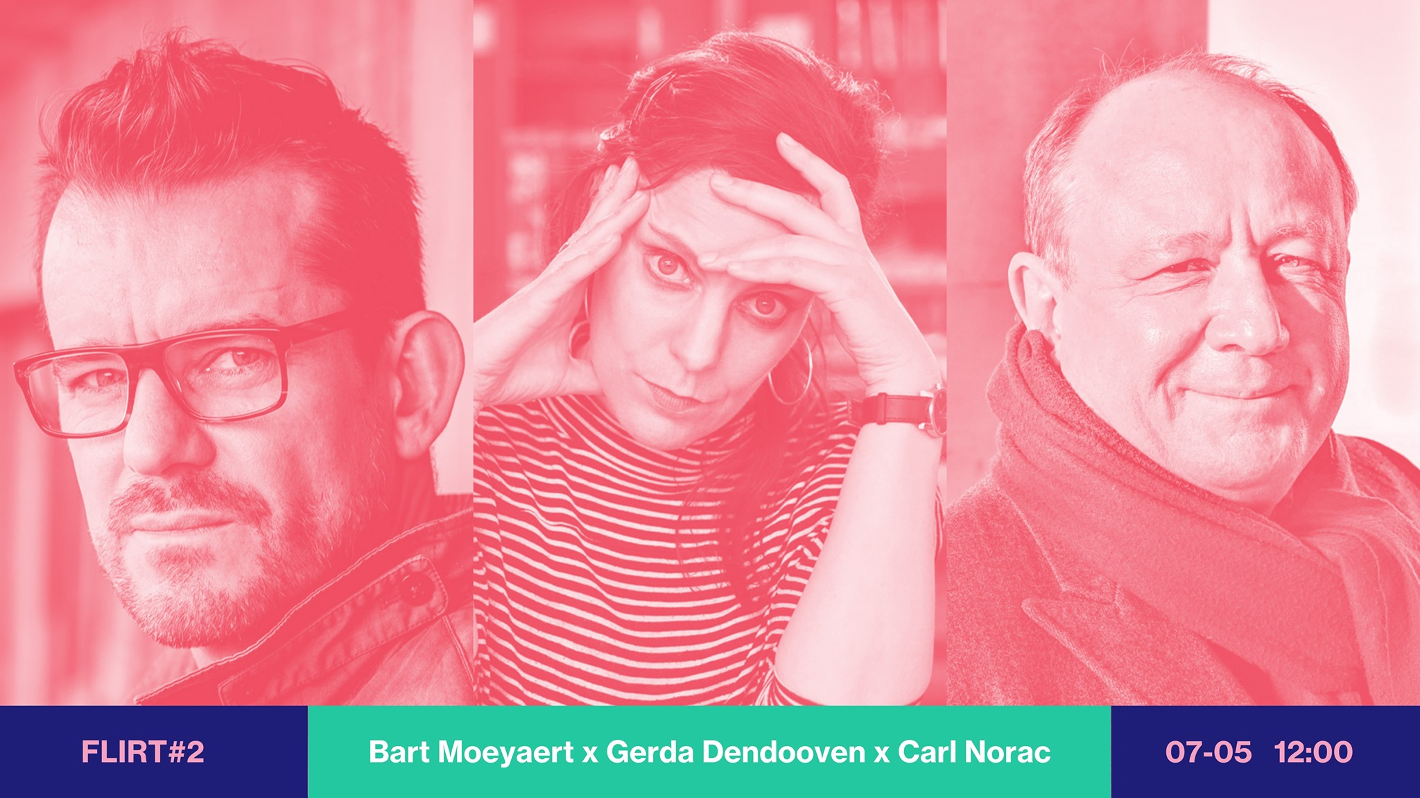 FLIRT #2 Bart Moeyaert, Gerda Dendooven & Carl Norac