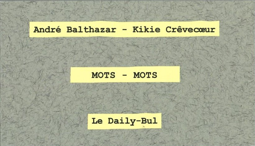 Mots - Mots
