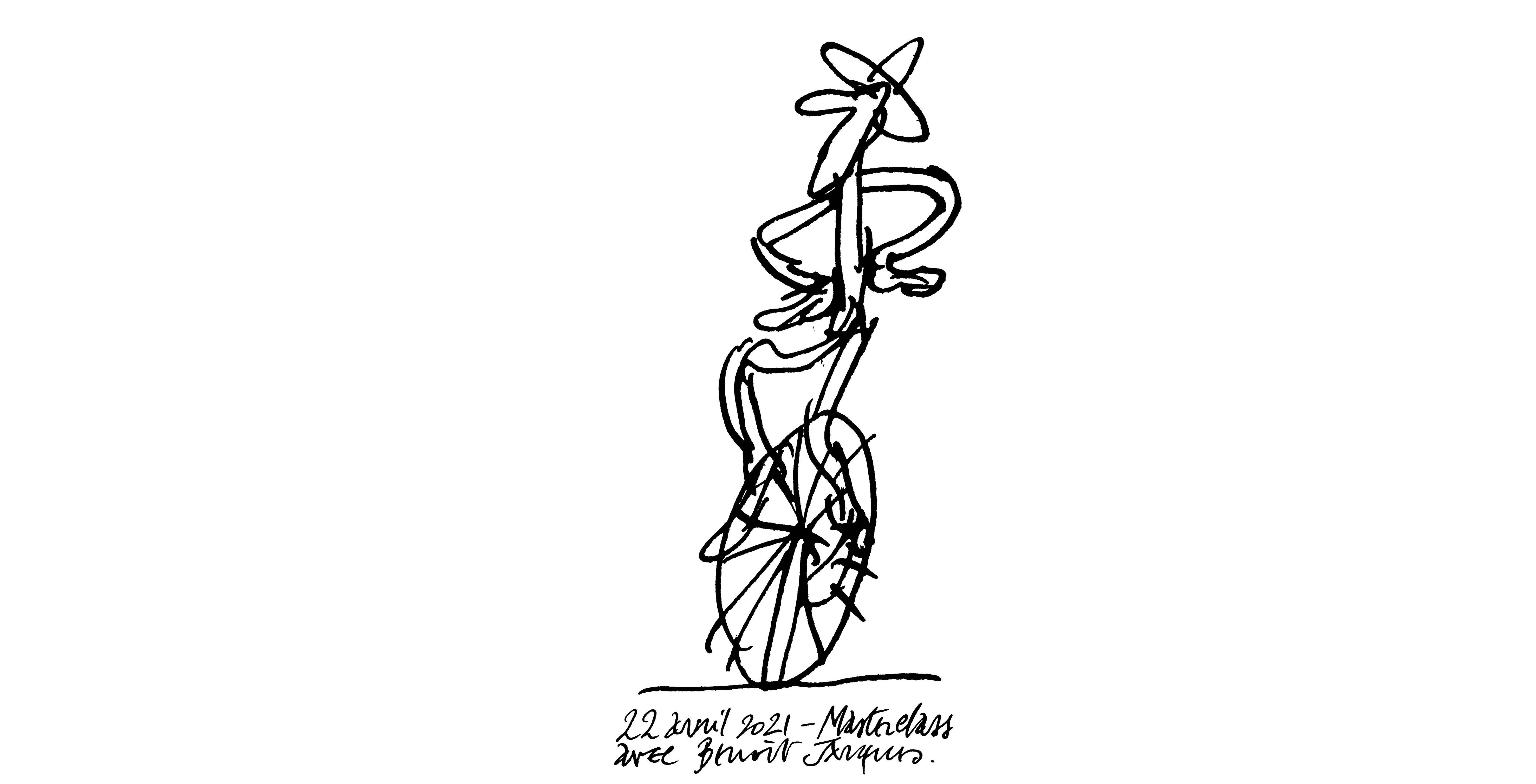« Les 30 ans du monocycliste » : une performance de Benoît Jacques